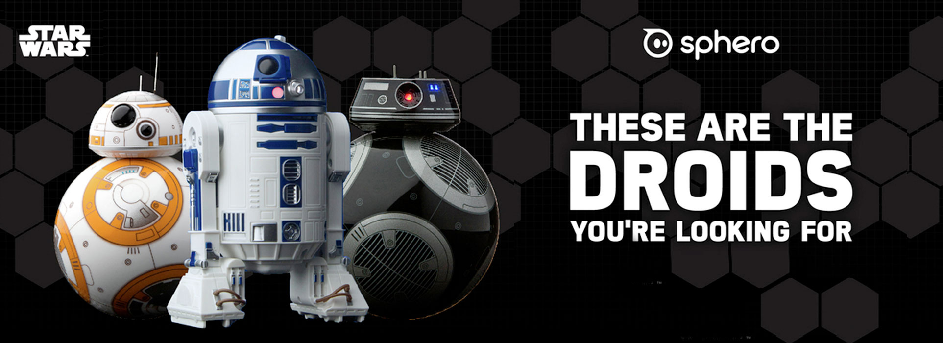 Star Wars - Sphero - BB9E - R2D2 - Droids