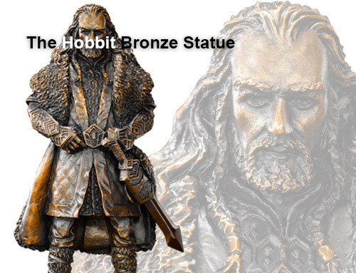 Noble Collections The Hobbit Browze Statue